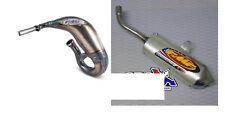 KTM SX Husqvarna TC 85 18 19 FMF Steel Fatty PC2 Front & Silencer Exhaust Pipe