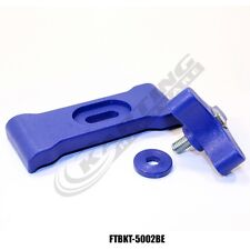 Fuel Tank Quick Release Mounting Bracket Kit (Blue), Go Kart Racing, Euro, Gas,
