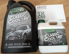 Evans Classic Cool 180° Waterless Engine Coolant for Classic Cars - 7L Free Post