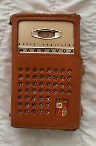 Vintage Magnavox            2  AM - 80 Transistor  Radio
