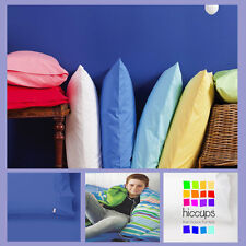 King Single Or Double Bed Sheet Set | White | Marine Blue | 225TC | Combo Pack
