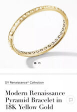 David Yurman 18k Gold Bracelet