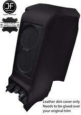 BLACK REAR CENTRE SUBWOOFER PANEL REAL LEATHER COVER FITS GT-R R35 2009-2017