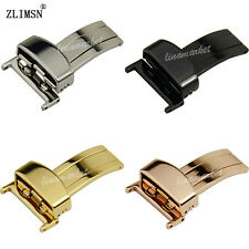 Stainless Steel Watch Band Buckle Strap Deployment Clasp 16 18 20 22mm for Cas--