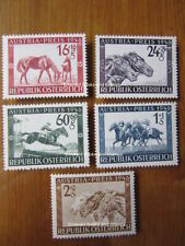 Horses Austrian Stamps