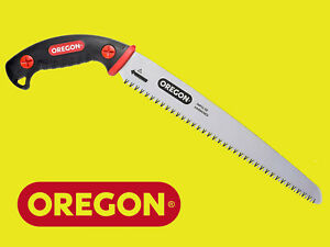 """Oregon 12"""" (300mm) Pruning Hand Saw Straight Blade with Sheath for Arborist"""