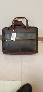 Pratt leather large executive brifcase. Very beutiful.new.given as gift.unused