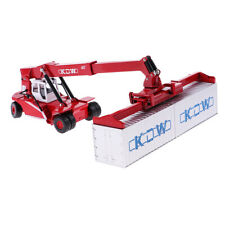 Miniature Die-Cast Suspension Crane Truck Mechanical Vehicle Model Toy 1/50