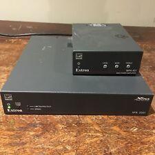 Lot of Extron Mini Power Amp MPA 401 & XPA 2001 Extra Power 200W Amp