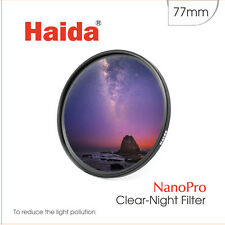 Haida Clear-Night NanoPro 77mm MC Optical Glass Filter Light Pollution 77