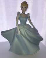 """Disney Cinderella 8"""" Porcelain Musical Wind-up Doll """"So This Is Love"""""""