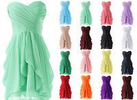 New Short Bridesmaid Dress Ball Gown Mini Dress Prom Evening Party Dresses