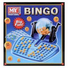 Bingo Lotto Game 48 Cards 100 Covering Chips 90 Bingo Balls Dispenser For Kids