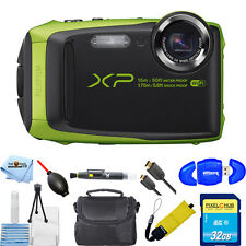 Fujifilm FinePix XP90 Digital Camera (Lime)!! ALL YOU NEED BUNDLE BRAND NEW!!