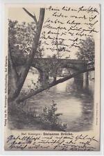 AK Bad Kissingen, Steinerne Brücke, 1900