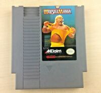 NES WRESTLEMANIA Nintendo Video Game Cartridge Only TESTED