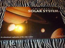 Children's Solar System - NEW!!!