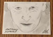 ANTHONY HOPKINS 2012 Leaf National Exclusive Sketch Card (#1/1) Westworld