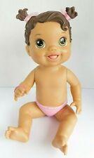 Hasbro 2012 Baby Alive Yummy Treats Baby Doll  Brunette Hazel Eyes