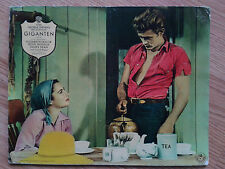 James Dean - GIANT -  scarce German lobby card #3 ROCK HUDSON Elizabeth Taylor