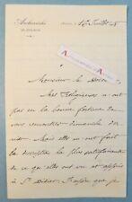L.A.S 1908 Mgr Michel André LATTY archevêque AVIGNON - Vaucluse Médecine Cagnes