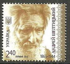 Ukraine - 150. Geburtstag Andrej Scheptyzkyj 2015  postfrisch Mi. 1481
