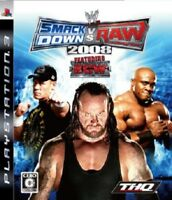 Used PS3 WWE Smackdown Vs. RAW 2008 BLJM60047
