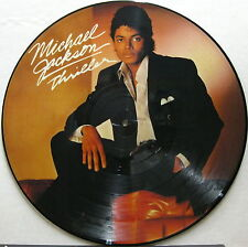 MICHAEL JACKSON Thriller 1983 UK ORG PICTURE DISC LP Minty!