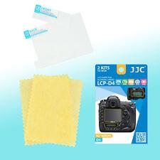 Nikon D4 Top & Back LCD Screen Film Protector Scratch Resistance PET JJC LCP-D4