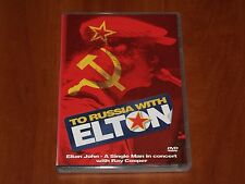 ELTON JOHN RAY COOPER TO RUSSIA WITH LOVE LIVE IN CONCERT 1979 DVD REGION-2 New