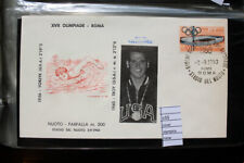 COVER OLYMPICS ROME 1960 SWIMMING GOLD MEDAL TROY (C55)