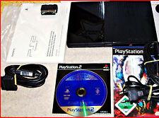 PS2 Slim & Lite + 16 MB +4 Games +Controller +testato