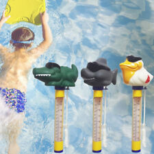 More details for cute animal floating thermometer test for swimming pool pond hot tub water kids