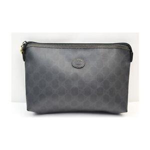Gucci Accessories Pouch Bag  Black PVC 2400456