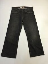 Men's Levi 567 'Loose Bootcut' Jeans - W32 L29 - Faded Black - Great Condition