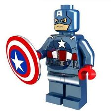 HOT MODEL LIMITED CAPTAIN AMERICA CHROME MINIFIGURE SERIES LEGO Moc C3P0 MR GOLD