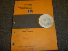 John Deere 350c Crawler Loader Amp Crawler Bulldozer Parts Catalog Manual Pc1480