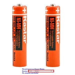 Kastar Ni-MH AAA 1.2V Battery for Panasonic HHR-4DPA/4B HHR-55AAABU HHR-65AAABU
