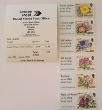 More details for jersey - je02 - broad street - 'coastal flowers ' collector / local / sets - fdi