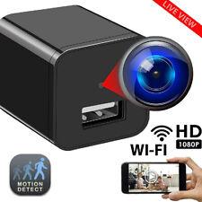 32GB Mini Charger Spy Camera 1080P Full HD Camcorder Hidden DVR Loop Record MX