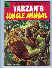 Tarzan Jungle Annual #4 - 1955 Dell Comics - Fine