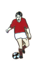 Euro 2012 Denmark Footballer Quality Enamel Lapel Pin Badge
