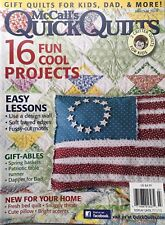 McCall's Quick Quilts Magazine - Jun/Jul 2013 Fun Cool Projects