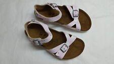 Birkis Tuvalu Children Girls Sandals Size 34 Funky Stars Rose Stars 334313 2c331c82913