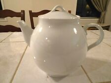 Pottery Barn PB White Tea Pot with Lid