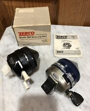 Vintage Zebco 202 Fishing Reels One With Box and Manual