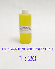 CCI GEM-ZYME stencil / emulsion remover concentrate. 1- Oz Free Shipping