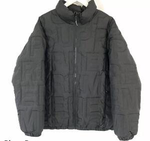 Supreme Bonded Logo Down Jacket Black, Size XL
