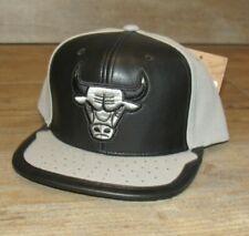 Mitchell & Ness Chicago Bulls Day One Rare Flat Brim Snapback Hat Cap Men's