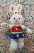 "Gund - Dc Comics - Wonder Woman Anya - 11"" Excellent Condition Soft Plush Bunny"